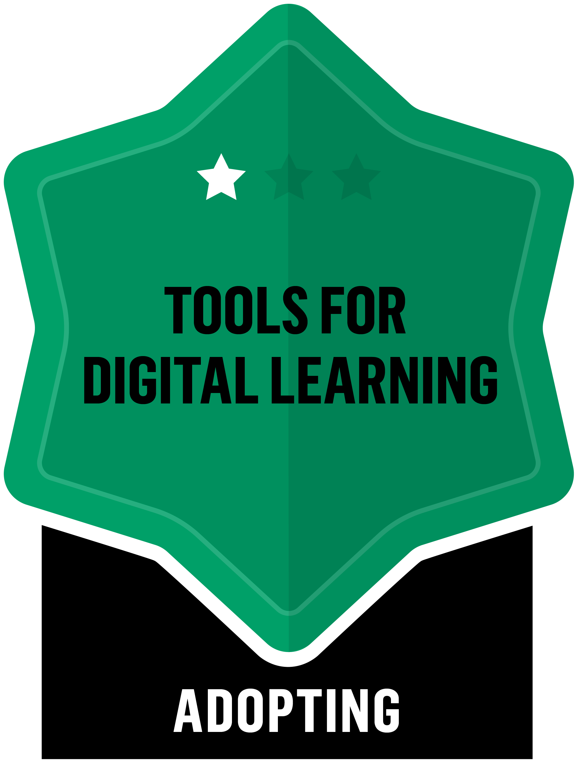 Tools for digital learning - Adopting