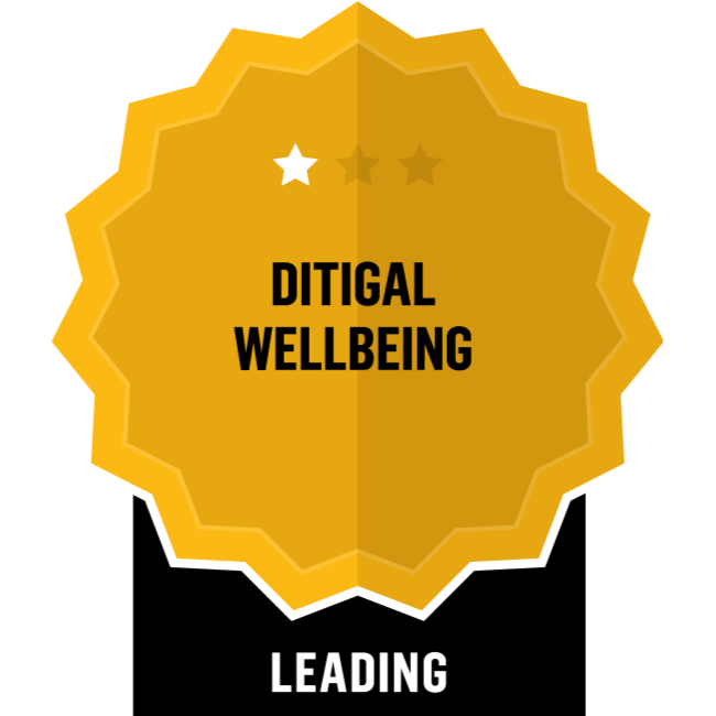 Digital Wellbeing - Leading