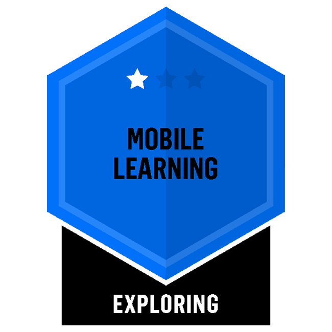 Badge for Mobile Learning - Exploring