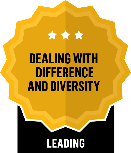 Dealing with Difference and Diversity - Leading - 3 Star