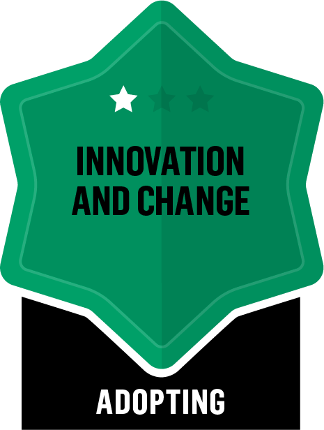 Innovation and Change - Adopting - 1 Star