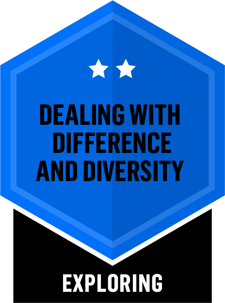 Dealing with Difference and Diversity - Exploring - 2 Star