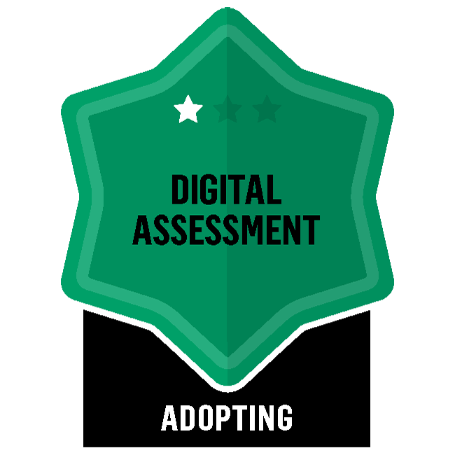 Badge for Digital Assessment - Adopting