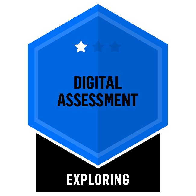 Badge for Digital Assessment - Exploring