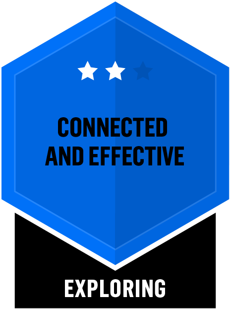 Connected and Effective - Exploring - 2 Star