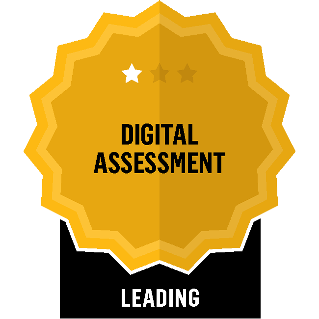 Badge for Digital Assessment - Leading