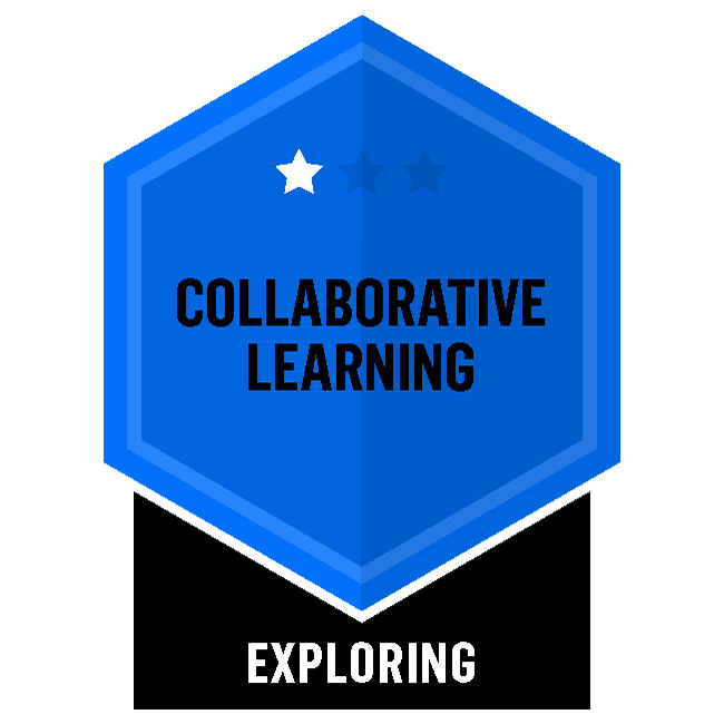 Badge for Collaborative Learning - Exploring