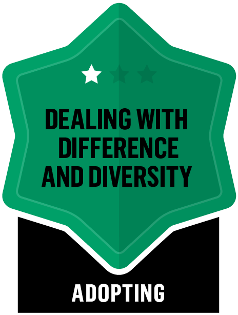 Dealing with Difference and Diversity - Adopting