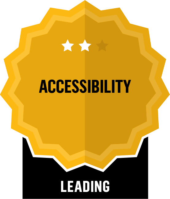 Accessibility - Leading - 2 Star