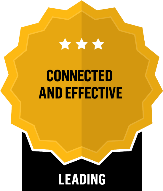 Connected and Effective - Leading - 3 Star