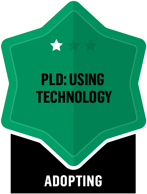 PLD: Using Technology